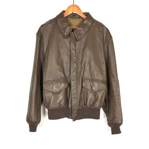 Vintage Cooper Type A-2 Air Force Bomber Jacket